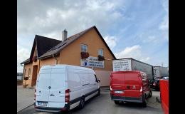 Transport mit Lieferwagen - national, international Tschechische Republik