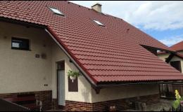 Kompletní dodávky střech Červený Kostelec