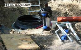 Kompletní dodávka tlakové kanalizace Olomouc