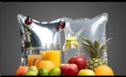 Hygienické sáčky, určené k balení různých nápojů