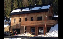 Stavby Nisa s.r.o.-přestavba rekreační chaty Harrachov