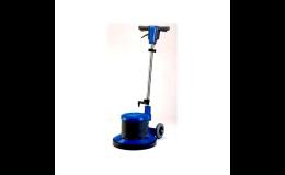 Podlahové mycí, ruční drhnoucí a leštící stroje