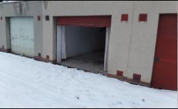 Nebytové prostory k pronájmu - garáže, parkovací stání Svitavy