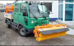 Silniční zametače k dočištění chodníků a vozovek Dvůr Králové nad Labem