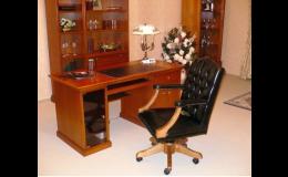 Čalouněný nábytek pro reprezentativní prostory kanceláří - zakázková výroba