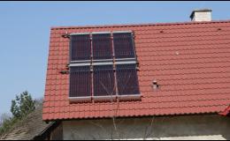 Solární panely pro rodinné domy, Brno