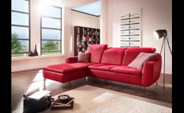Vysoce komfortní designová sedací souprava