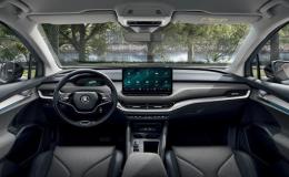 ŠKODA ENYAQ iV - smart technologie, konektivita, vysoký dojezd a rychlé nabíjení