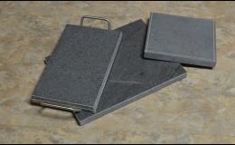 Pečící a grilovací kameny s nerezovým rámečkem, Přerov