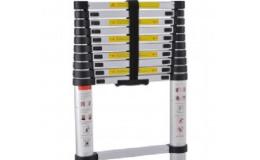 Teleskopické hliníkové žebříky za příznivé ceny s dopravou zdarma