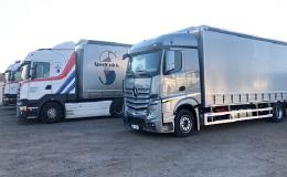 Mezinárodní kamionová přeprava zboží po celé Evropě a spedice
