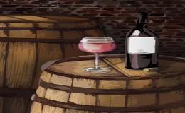 Ovocná a šumivá vína, lahvová a sudová vína z Moravy