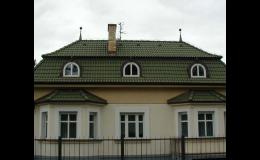 Rekonstrukce střech, betonová střešní krytina