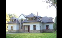Střechy na rodinné domy - betonové tašky
