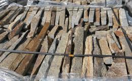 štípaný obkladový kámen