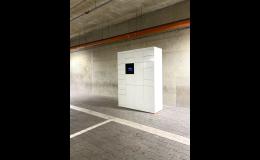 Chytré schránky Blocks, bezpečné pro předání zásilek
