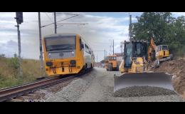 Výstavba a oprava železničních tras