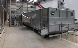 Linka na sušení biomasy - kompletní dodávka