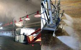 Výkonná technika pro čištění hospodářských hal s chovem zvířat