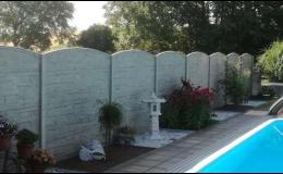 Montáž betonových plotů na klíč Hodonín