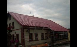 Rekonstrukce střech, opravy a výměna střešních prvků
