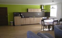 Apartmány se dvěmi ložnicemi, kuchyní a vlastní koupelnou Hrabětice, Znojmo