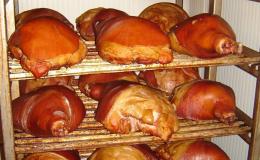 Uzené maso a uzeniny v Prosiměřicích u Znojma
