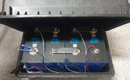 solární baterie LiFePO4 12V 280Ah s Bluetooth BMS