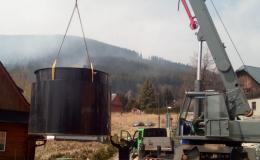 Instalace biologických čističek odpadních vod Olomouc