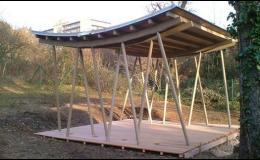 Atypické dřevěné konstrukce na zakázku Brno