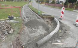 výstavba zpevněných ploch Velký Ořechov - Zlínský kraj