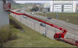 Pracovní plošiny až do výšky 30 metrů Brno