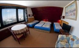 Ubytování v soukromí Benecko - Krkonoše, 4 lůžkový pokoj