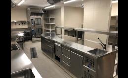 Návrh a vybavení kuchyní