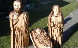 Dřevo ateliér Plzeň, velké zahradní sochy
