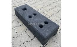 Plastové podstavce pro stabilizaci panelů