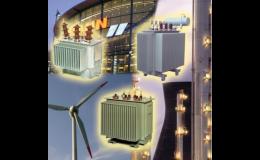 Distribuční transformátory olejové