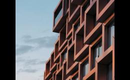 Bytový dům Karlín, moderní vzhled a technologie