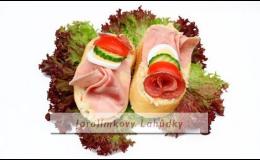 Jarolímkovy lahůdky, výroba studené kuchyně Nový Knín, výroba chlebíčků