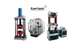 Zkušební stroje Ibertest pro materiály