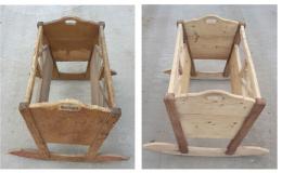 Pískování dřevěných předmětů a konstrukcí