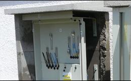 Výroba skříní pro plyn a elektro Červený Kostelec