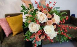 Vázání svatebních kytic Praha