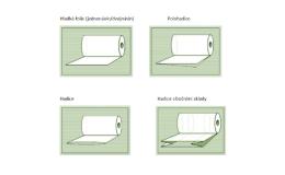 LDPE fólie v různých typech
