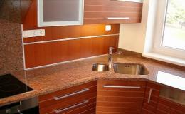 Originální kamenné prvky do kuchyně