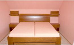 Truhlářské výrobky na zakázku Plzeň, postele