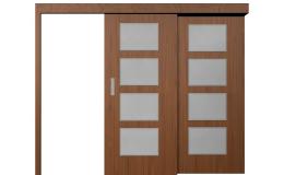 Kvalitní interiérové dveře s posuvným systémem