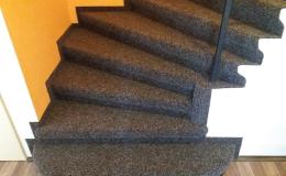 Hydrokorkové obklady schodů na míru