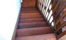 PVC a dřevěné obklady schodů Znojmo