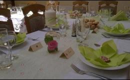 Ubytování v hotelu Slunce Rýmařov, gastronomie